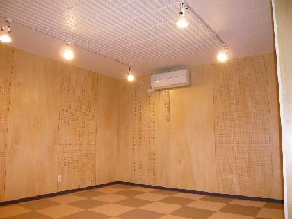 バンド練習楽器演奏音楽教室ッ利用可能なプライベート貸しスタジオ  音部屋中野スタジオ  Bスタジオ室内写真