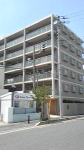 浦和市のマンションの外観