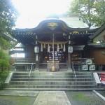 青砥神社拝殿
