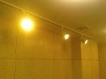 防音スタジオ・照明