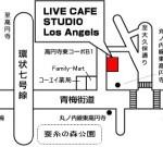 ロサンゼルスクラブの地図