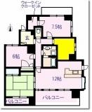 埼京線戸田公園駅 防音室付4LDKの図面
